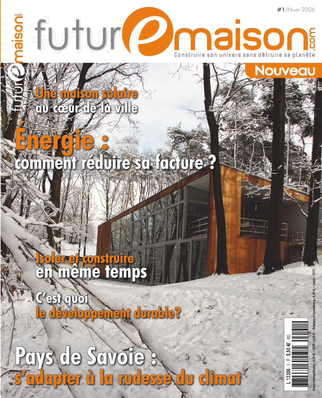 Futur-e-maison.com : nouveau magazine 'bimédia' sur le confort et l'environnement