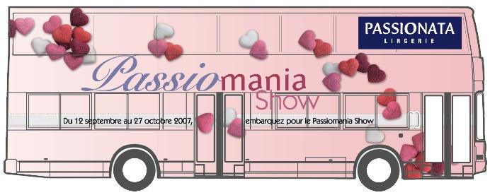 Passionata fait le tour de France en bus