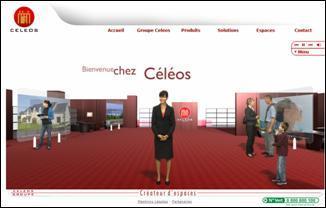 Une agence immobilière en 3D