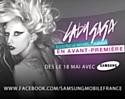 Samsung, fan de Lady Gaga sur Facebook