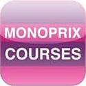 Monoprix propose l'application Monoprix Courses