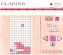 Joue la comme Tetris avec Clarins