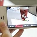 Starbucks anime Noël grâce à la réalité augmentée