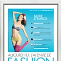 La lingerie Billet Doux en affichage virtuel avec NextOne