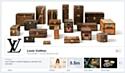 Louis Vuitton relooke sa page Facebook