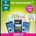 Samsung France propose, durant tout le mois de juin, un jeu autour du NFC dans trois villes: Caen, Marseille et Strasbourg.