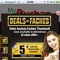 Phoceis teste le geofencing pour Auchan