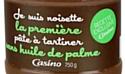 'Je suis noisette' MDD sans huile de palme (Casino)