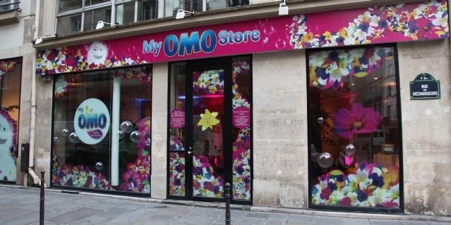 My Omo Store : Pop Up Omo pour personnaliser sa lessive