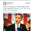 Euronews teste un service d'information sur l'application vidéo de Twitter
