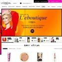 L'Oréal Paris ouvre boutique sur Internet