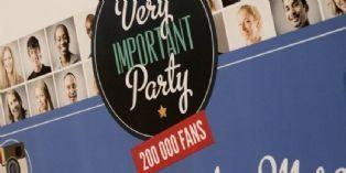 Vélizy 2 remercie ses fans Facebook en organisant une 'Very Important Party'