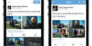 Les photos sur Twitter deviennent plus interactives