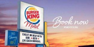 Burger King envoie ses clients infidèles au motel