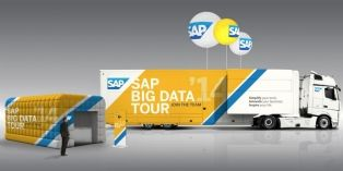 Le Truck de SAP est un véritable show-room ambulant