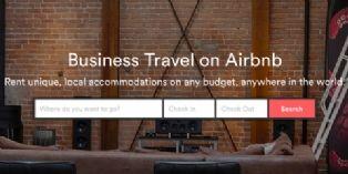 Airbnb se positionne sur le voyage d'affaires