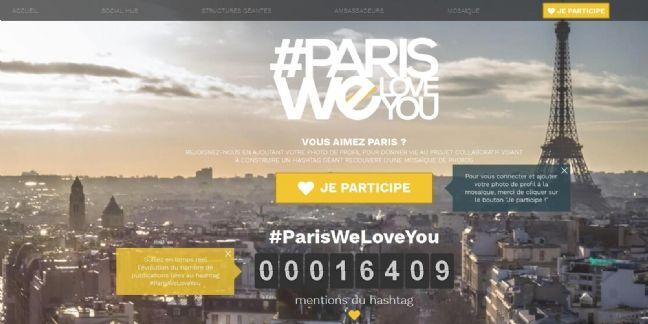 Attentats : Les acteurs économiques de Paris flirtent avec les touristes sur la toile