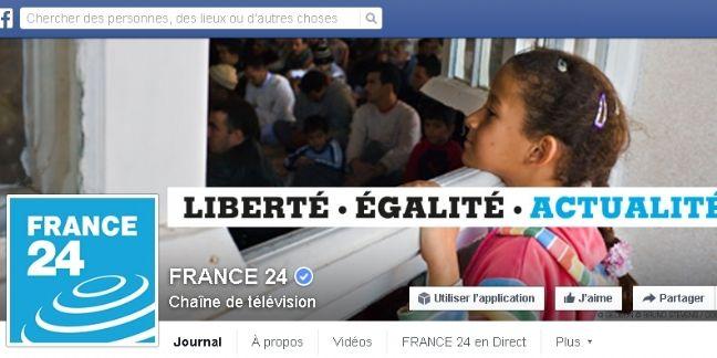 France 24, premier média français sur Facebook
