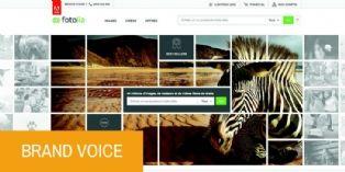 ' 90 % des visuels utilisés pour nos campagnes proviennent des banques d'images '