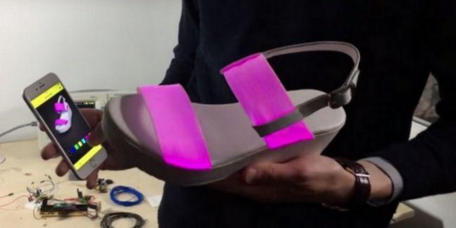 La chaussure connectée d'Eram en route pour le CES 2016
