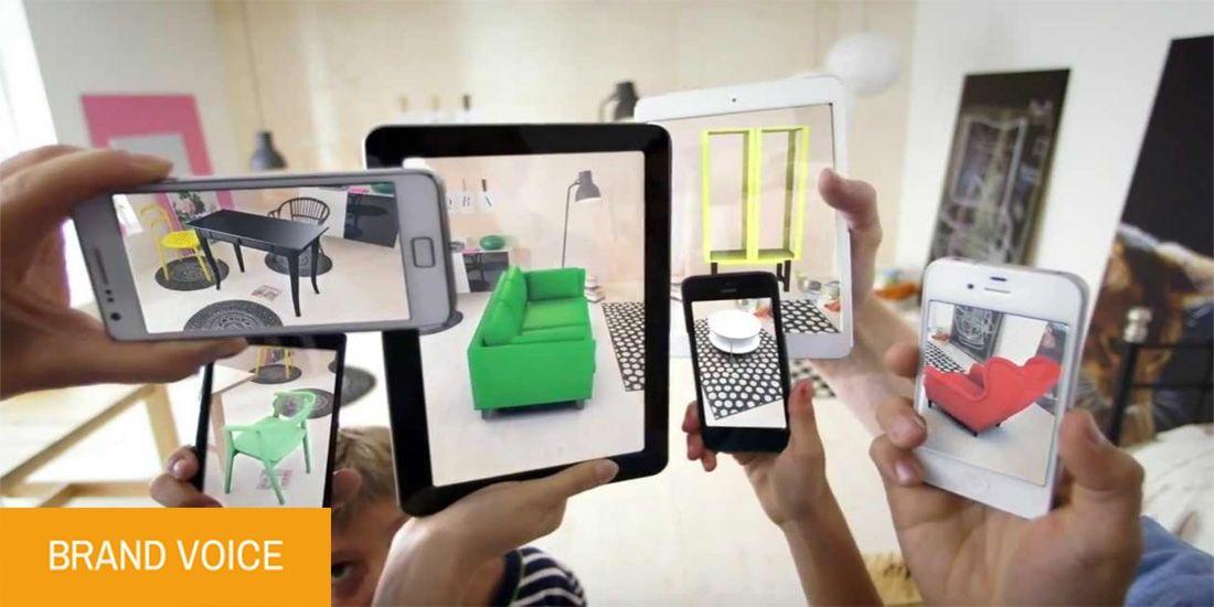 La réalité augmentée, nouveau terrain d'expression des marques :