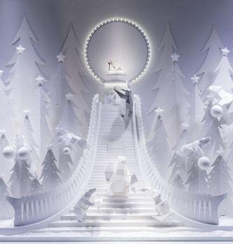 [Vidéo] Dans les coulisses des vitrines de Noël des Galeries Lafayette