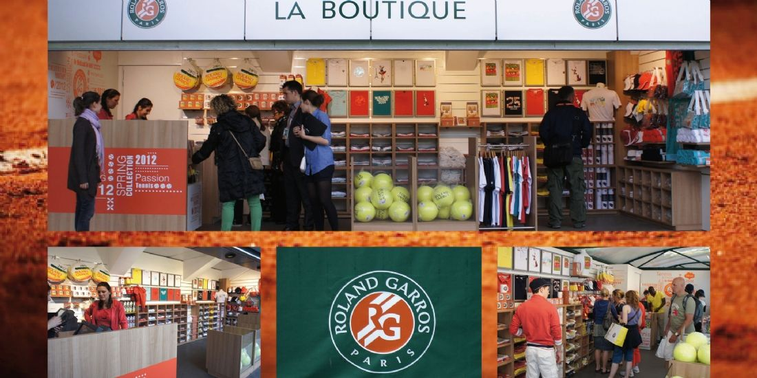 Roland-Garros sort des courts grâce au licensing