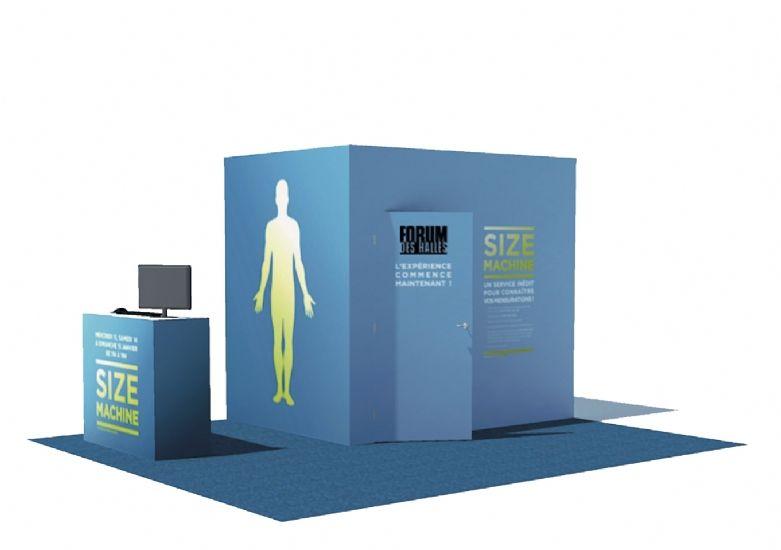 8 centres commerciaux parisiens vont tester une cabine d'essayage intelligente