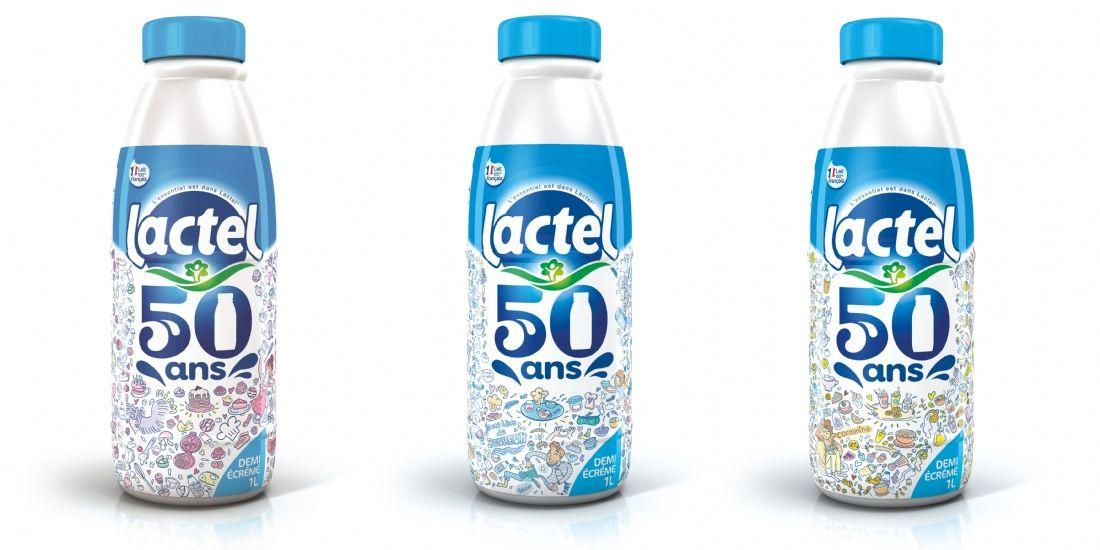 Lactel, un demi siècle de sagas publicitaires