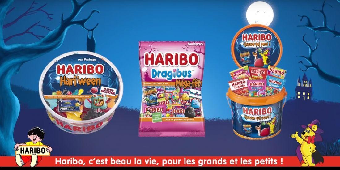 Les bonbons Haribo s'animent en AR pour Halloween