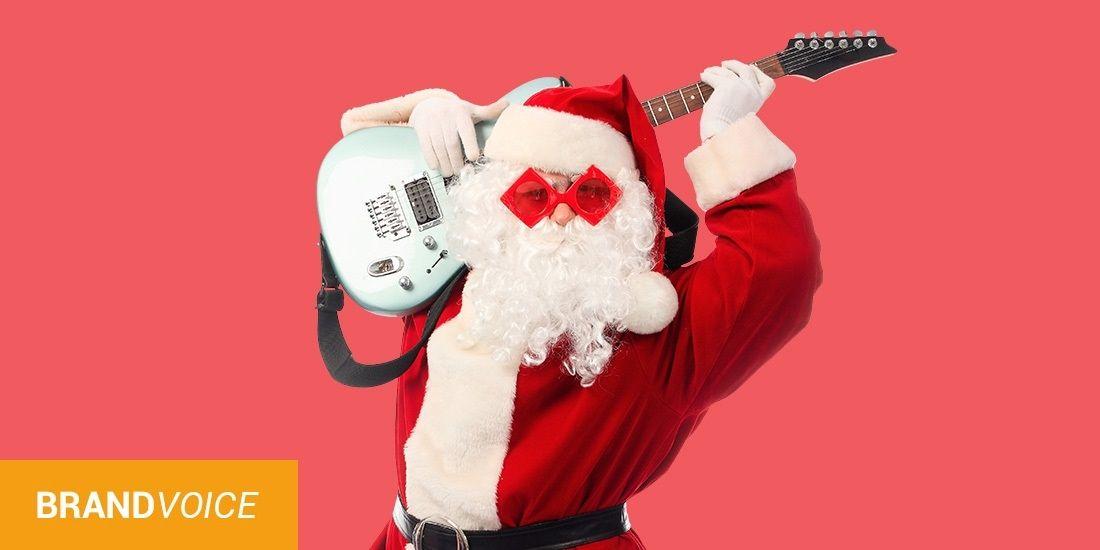 12 astuces digitales pour un marketing de Noël rock'n roll