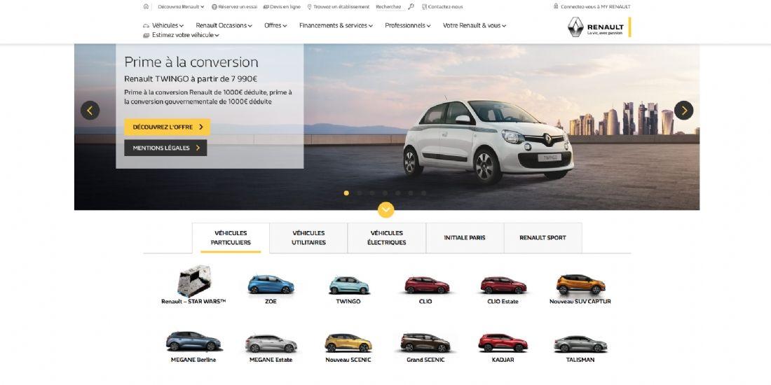 Renault met en place son DMP France avec Weborama