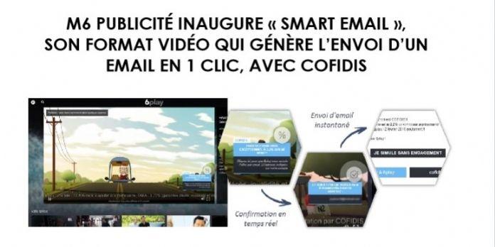 D'une vidéo à un e-mail en un clic avec le nouveau format de M6 Publicité