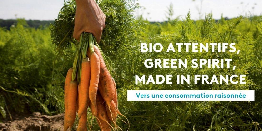 FranceTV Publicité cible les consommateurs bio et 'raisonnés'