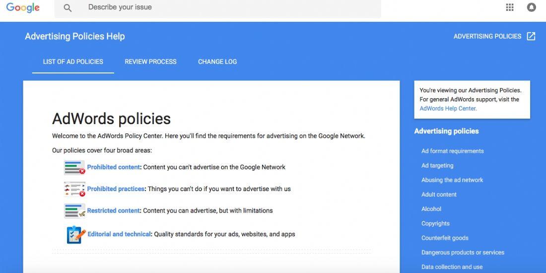 Google dévoile les résultats de ses politiques publicitaires