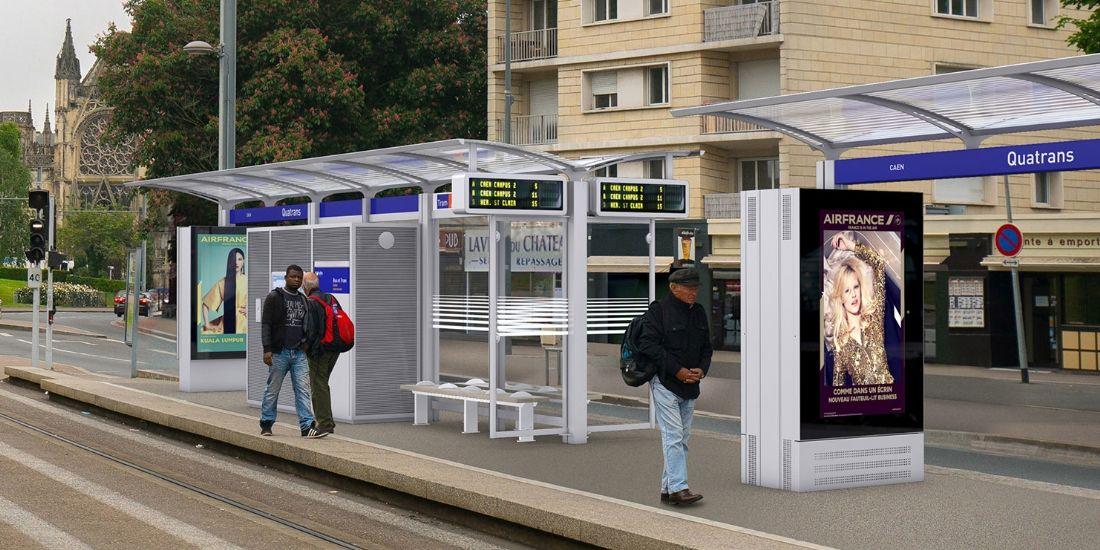 La communauté urbaine de Caen renouvelle sa confiance à Clear Channel jusqu'en 2034