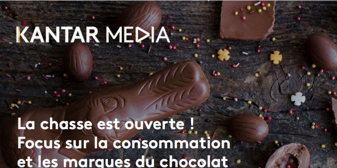 Les Français et le chocolat selon Kantar media