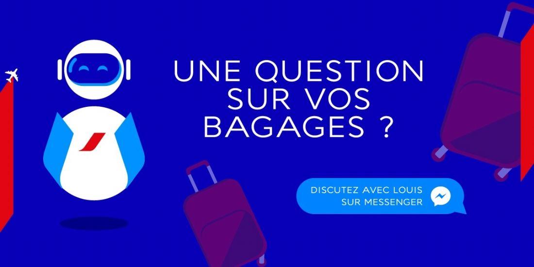 Air France vole au-dessus d'un nid d'IA