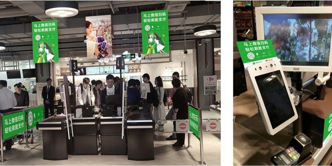 La reconnaissance faciale au coeur du dispositif Carrefour en Chine