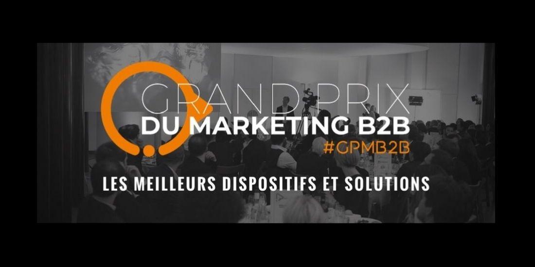 Et les lauréats du Grand Prix du Marketing B2B sont...