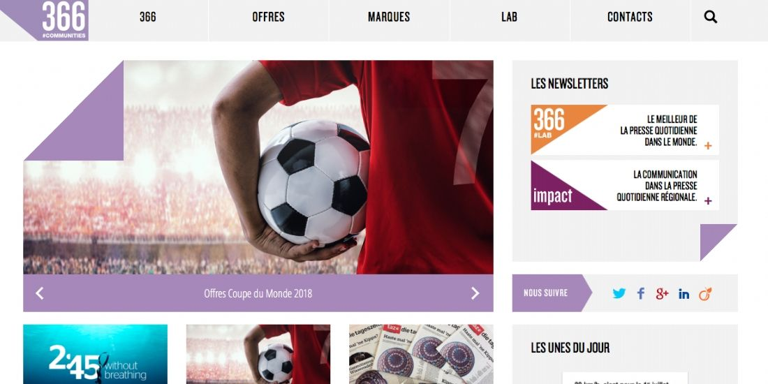 366 lance un nouveau format web-to-store s'appuyant sur la technologie Adventori
