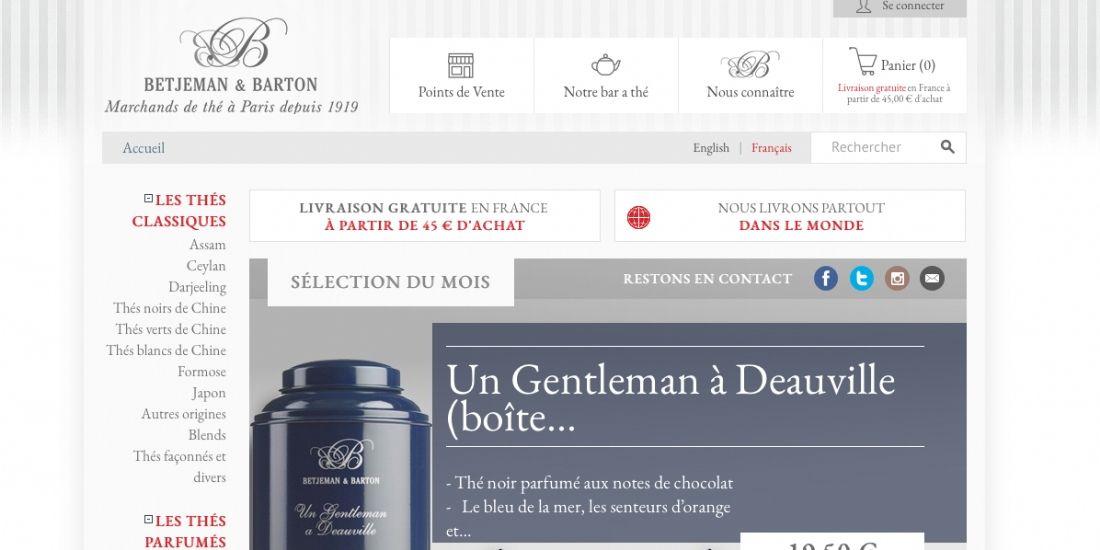 Michel Cluizel s'offre la maison de thé Betjeman & Barton