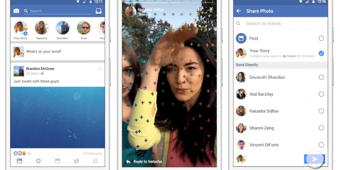Facebook introduit la publicité dans ses Stories