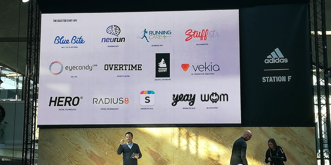 adidas installe 13 start-up à Station F