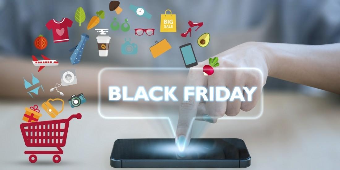 Black Friday: 145 millions d'euros de dépenses attendus par heure