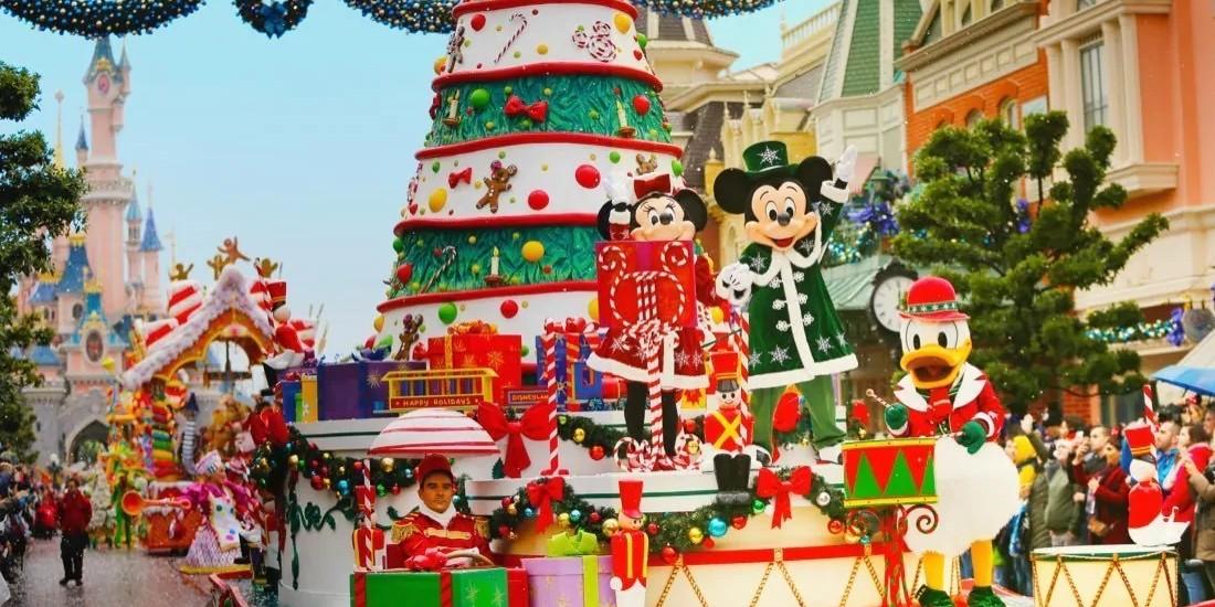 Près de la moitié des investissements pub de Disneyland Paris en TV ce Noël