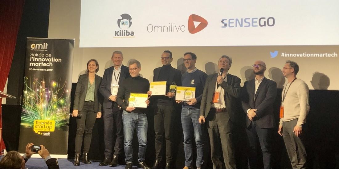 Sensego nommée startup martech 2019 par le CMIT