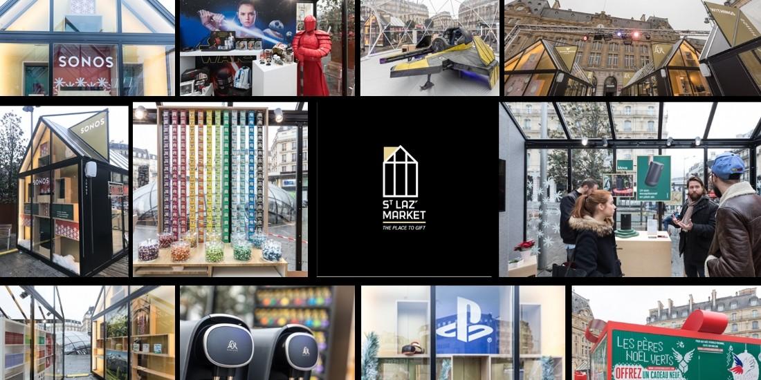 Pop-up stores : Le St Laz' Market attend 11 millions de visiteurs
