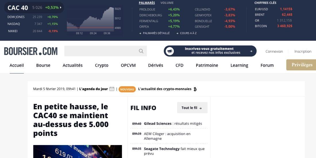 Boursier.com passe dans les mains du Groupe Les Echos-Le Parisien