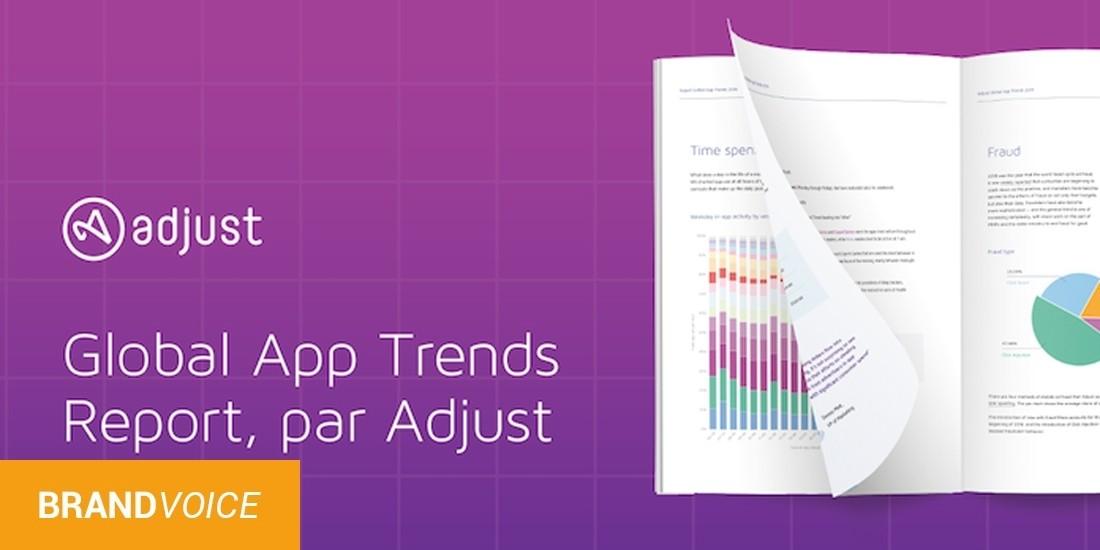 Adjust publie son rapport Global App Trends 2019